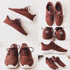 🔥Adidas Tubular Shadow Men's Shoes Brown 8.5